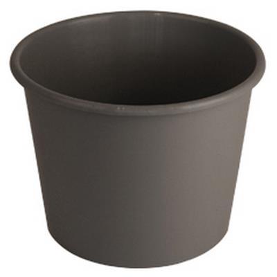 <h4>Bucket 5ltr wide light grey</h4>