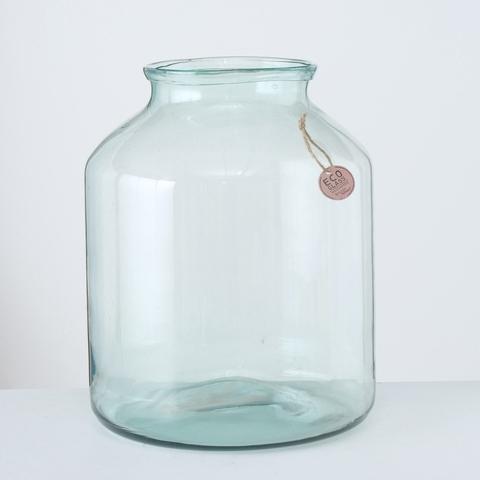 <h4>Vase Eco-Glas, H 42 cm, Clear</h4>