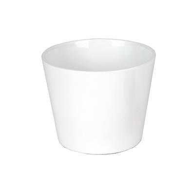 <h4>Pot Dallas Céramique Ø10xH8cm blanc brillant</h4>