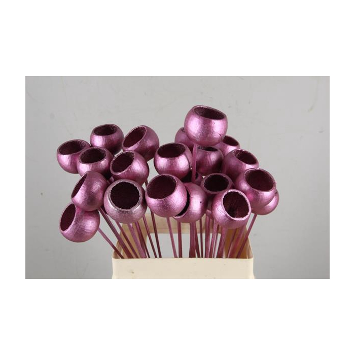 <h4>Stick Bell Cup Pink Antique</h4>