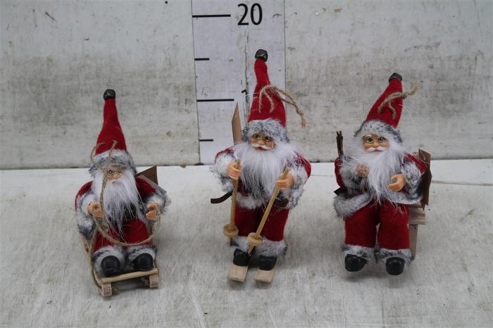 <h4>70003 Santaclaus Red Hemse 3 Ass. H13-18 Deco</h4>