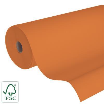 <h4>Papier 50cm Kraft blanc 50gr orange fond 400m.</h4>