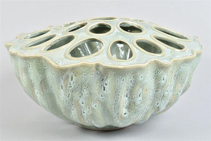 <h4>Lotus Schaal Aqua/mint 30x17cm</h4>