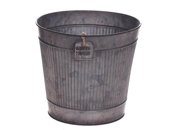 <h4>DF500063347 - Pot Rinco d13.5xh12 grey</h4>
