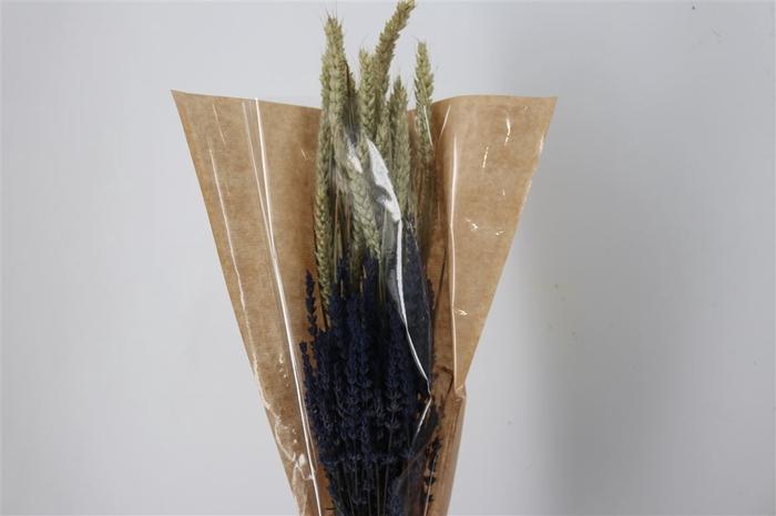 <h4>Dried Bouquet Deluxe Triticum/laven</h4>