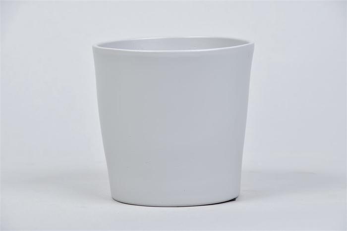 <h4>Nice Pot Grijs Mat Orchidee 12x12cm</h4>