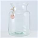 <h4>Vase Eco-Glas, H 26 cm, Klarglas, Transparent glass clear clear</h4>