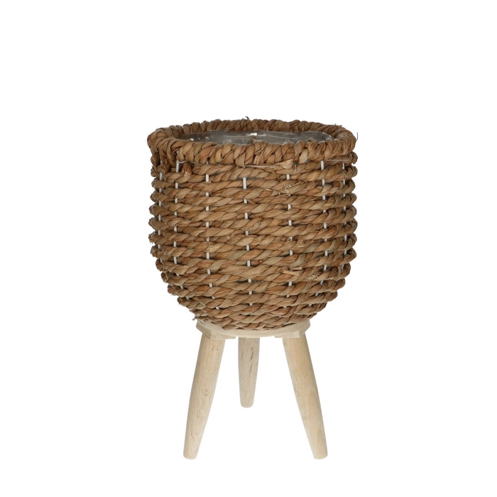 <h4>Baskets Pot/feet seagrass d21*20cm</h4>