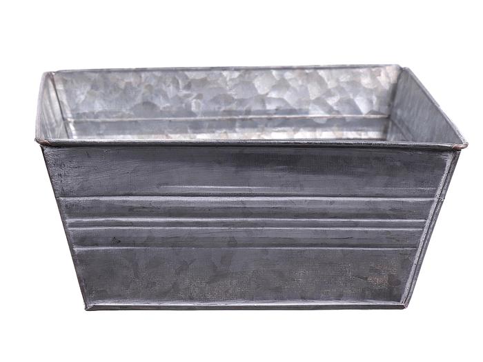 <h4>DF663170800 - Planter Yates square 20x20x9 grey</h4>