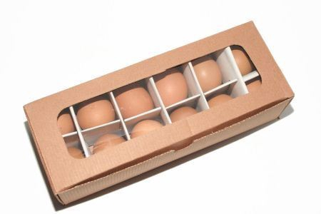 <h4>Basic Egg Chicken Brown 12 Pc</h4>