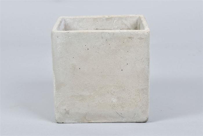<h4>Beton Pot Vierkant 15x15x15cm</h4>
