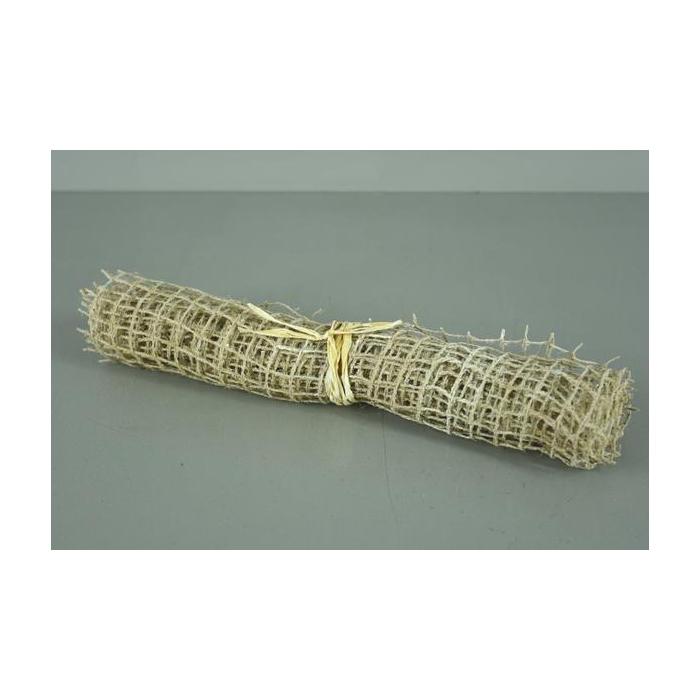 <h4>Jute Net Roll 100x30cm Wh.wash</h4>