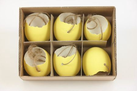 <h4>Hang. Egg Shell Matt 6pc</h4>