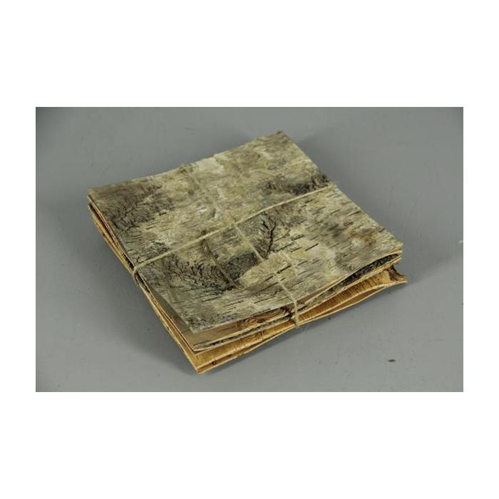 <h4>Birch Bark Pack 20x20cm(6p)nat</h4>