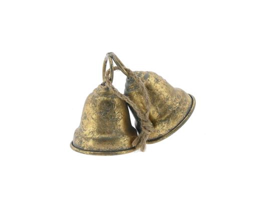 <h4>Bell Hanging Mtl 18x8x11 Gold</h4>