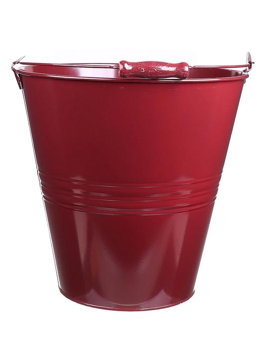 <h4>DF500065700 - Bucket Yorklyn d30.5xh30.5 bordeaux</h4>