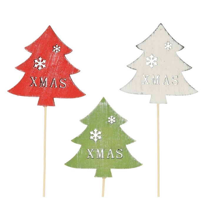 <h4>Christmas sticks 20cm Christmas tree 8cm</h4>