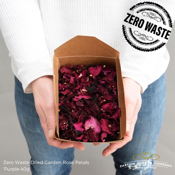 <h4>DRIED PURPLE ROSE PETALS 40g</h4>