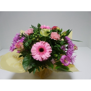 Bouquet Aqua Large Pink