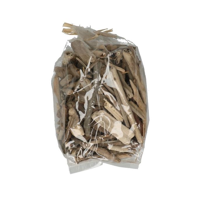 <h4>Droogdeco Driftwood 3/7cm 500g</h4>