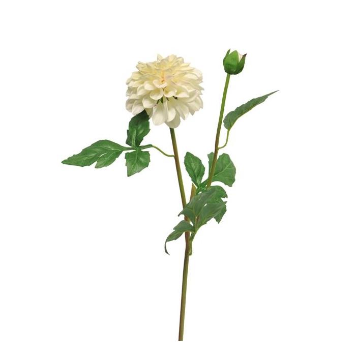 <h4>SILK FLOWERS - DAHLIA MINDY CREAM 64CM</h4>