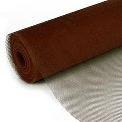 <h4>Fine Mesh on roll 50cmx25mtr dark brown</h4>