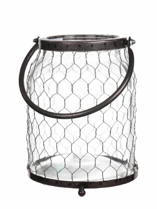 <h4>DF530361500 - Vase Braxlin1 d13/16.5xh22 metal</h4>