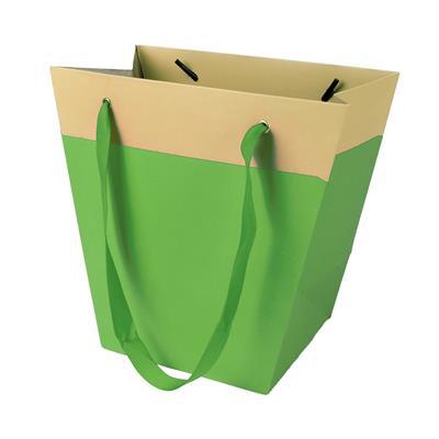<h4>Bag Facile carton 19/12x11xH18cm green</h4>