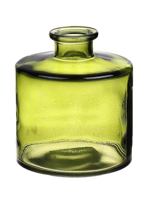 <h4>DF663411200 - Bottle Caro7 d9xh10.3 vintage green</h4>