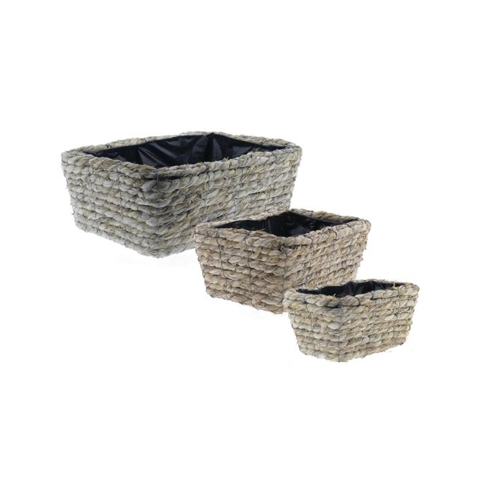 <h4>Basket Rope S/3 Ø36x14cm</h4>