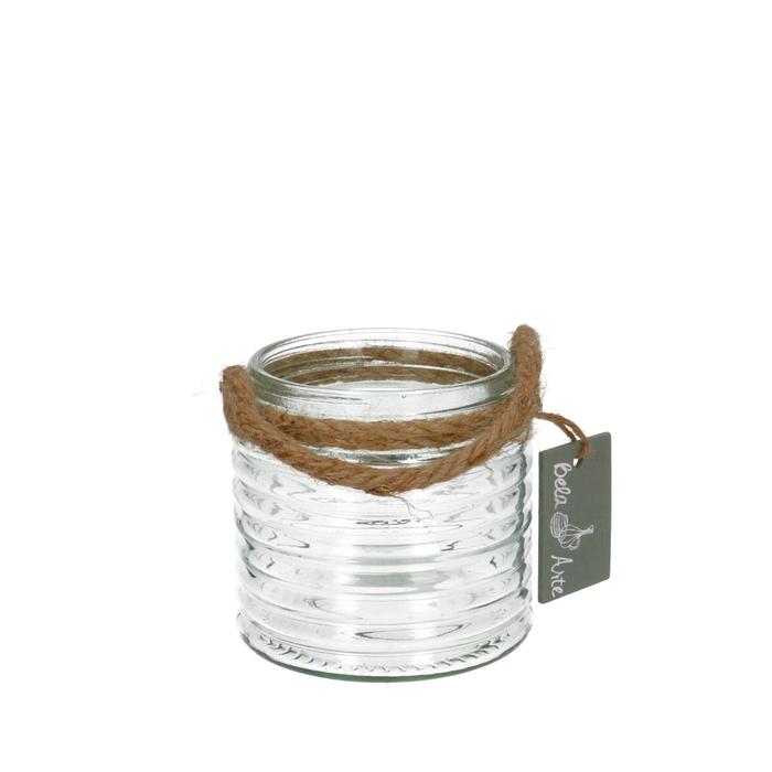 <h4>Glas Pot+touw d09*9.5cm</h4>