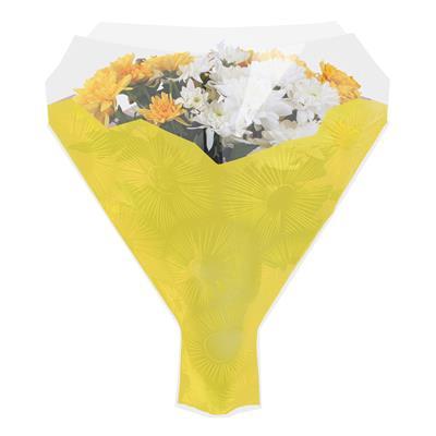 <h4>Housses 52x44x12cm OPP40 Cleome jaune</h4>