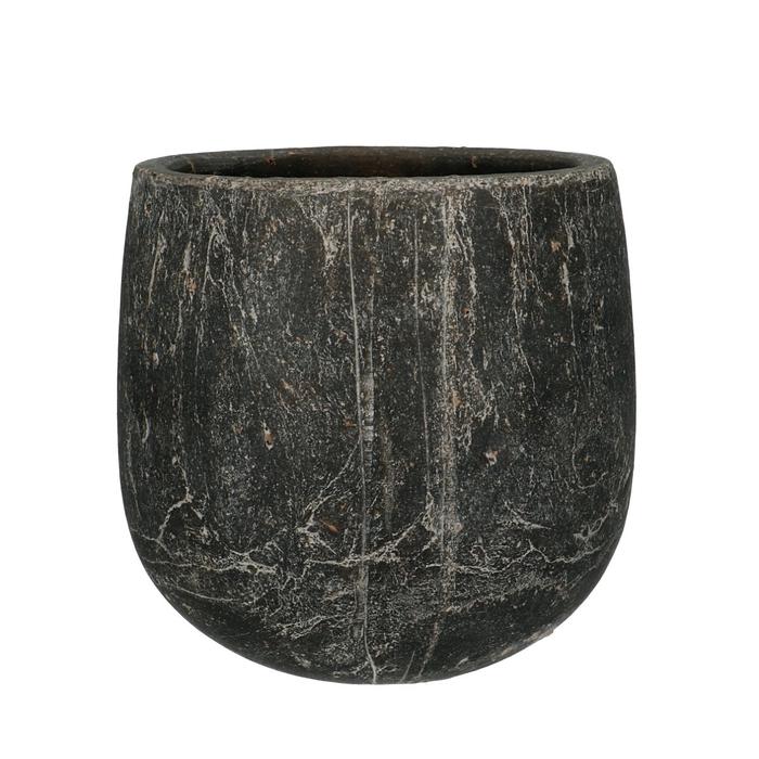 <h4>Keramiek Amber pot d20*19cm</h4>