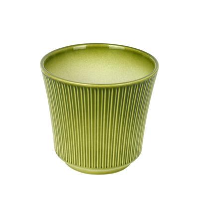 <h4>Pot en céramique Delphi Ø14xH13cm antique vert</h4>