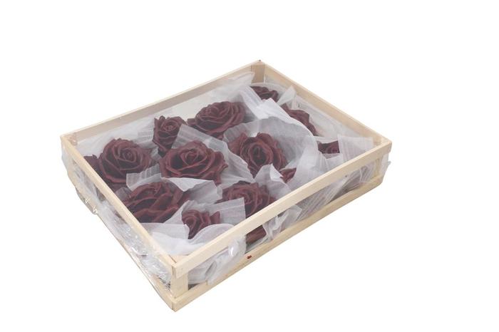 <h4>Wax Rose Bordeaux</h4>