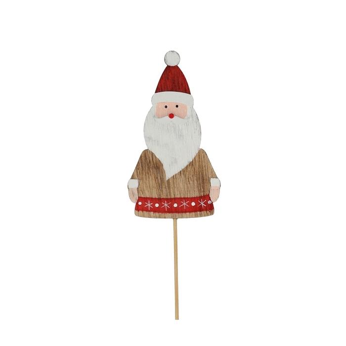 <h4>Christmas sticks 20cm Santa 9cm</h4>