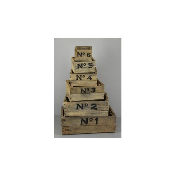 <h4>Box Numbers Natural (set 6pc)</h4>