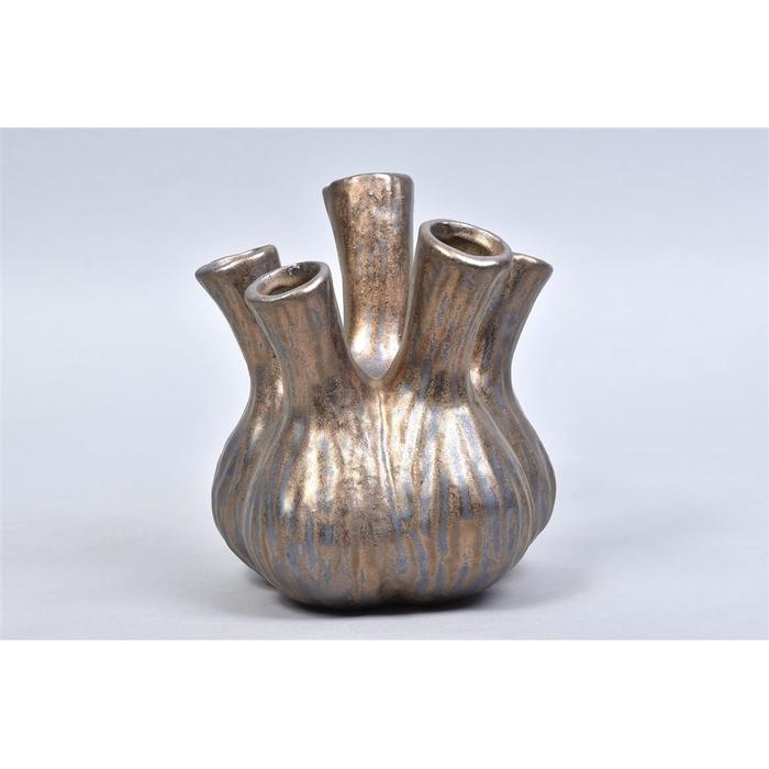 <h4>Aglio Vaas Bronze 17x20cm</h4>