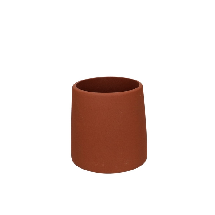 <h4>Ceramics Ederra pot taper d11*11cm</h4>