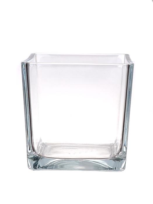 <h4>DF880901400 - Pot square Abbey 18x18x18 clear</h4>