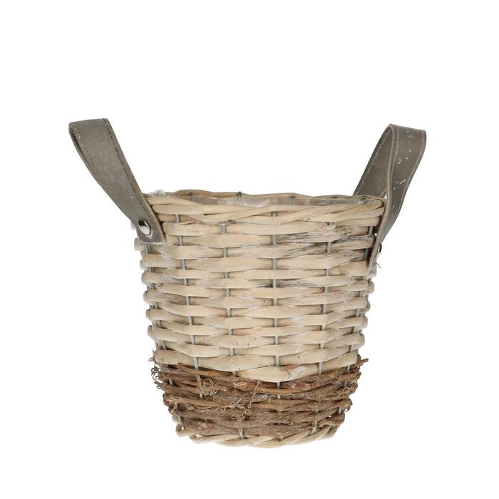 <h4>Baskets Iris pot+handle d16*14cm</h4>