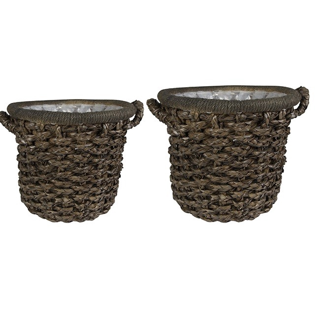 <h4>Baskets Huub pot S/2 d44*44cm</h4>