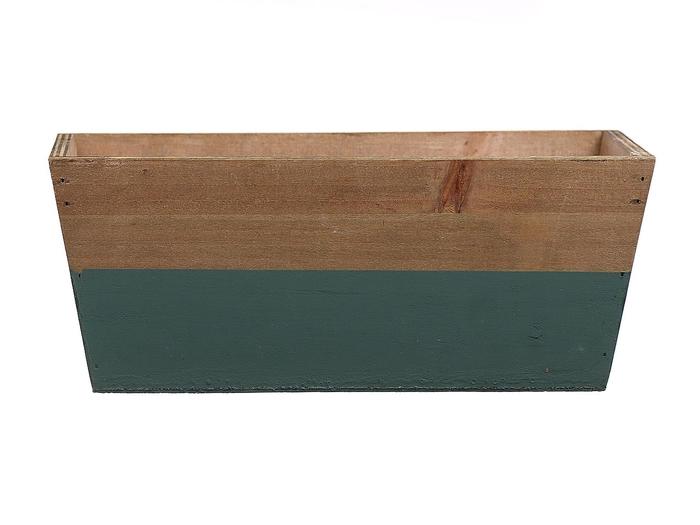 <h4>DF662681700 - Planter Argo3 25x13x10 green/natural</h4>