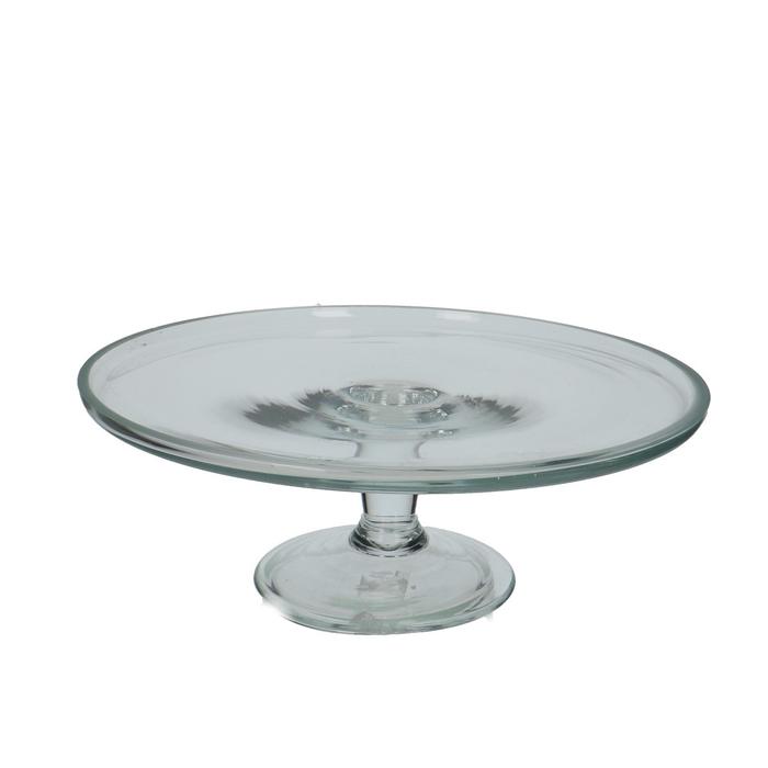 <h4>Glass Cake bowl d29*10cm</h4>