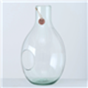 <h4>Vase Eco-Glas, H 50 cm, Klarglas, Transparent glass clear clear</h4>