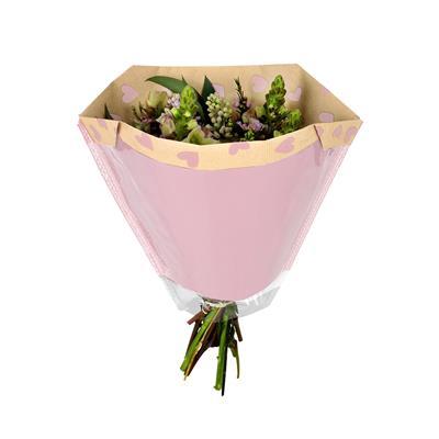 <h4>Housses 27x44½x11cm OPP40/Kr.45 Piccolo Love rose</h4>