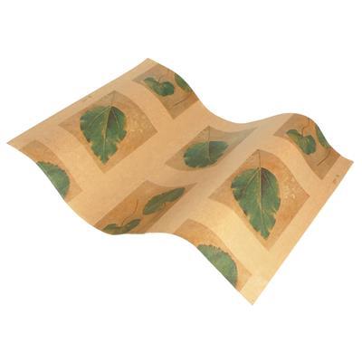 <h4>Papier vel: 42x62cm br. kraft  Leaves groen  840st</h4>