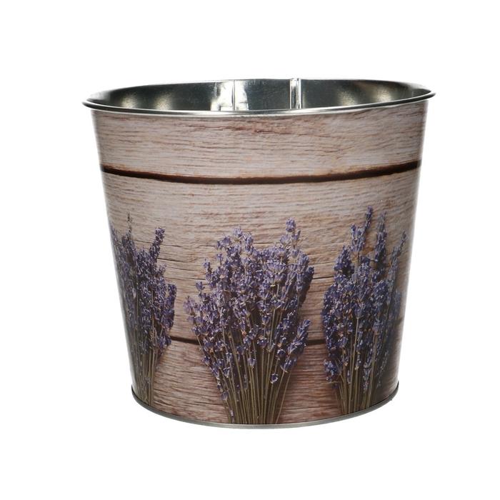 <h4>Zink Pot lavendel d16*14cm</h4>