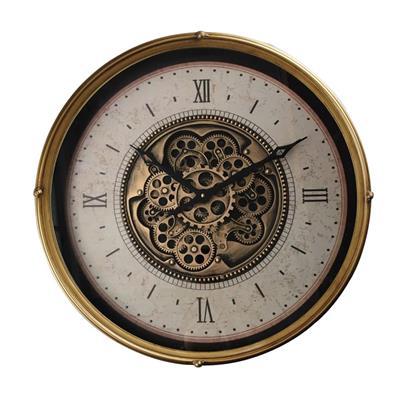 <h4>Clock Gear Ø60cm Gold 90626</h4>