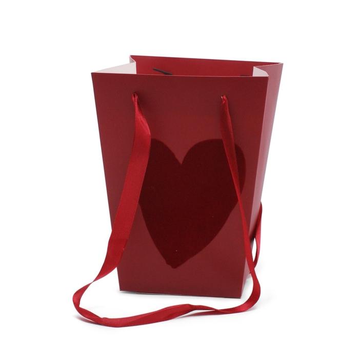 <h4>Valentijn Tas Velvet Love 15/11*20cm</h4>